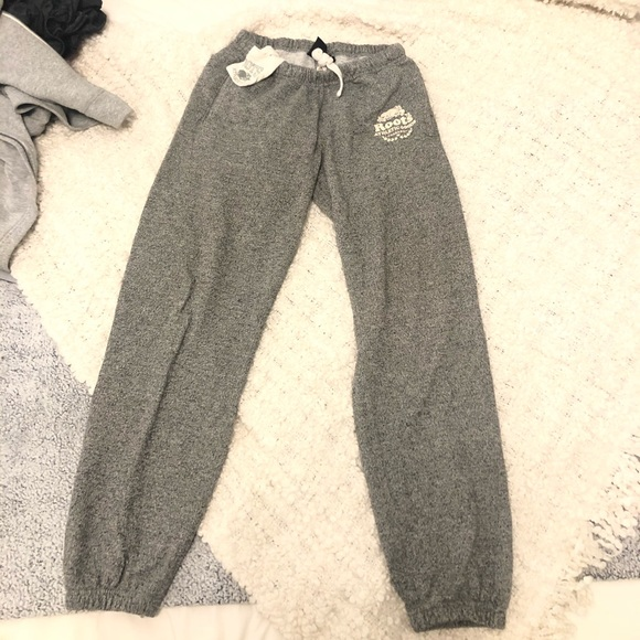Roots Gray Joggers - Size Small